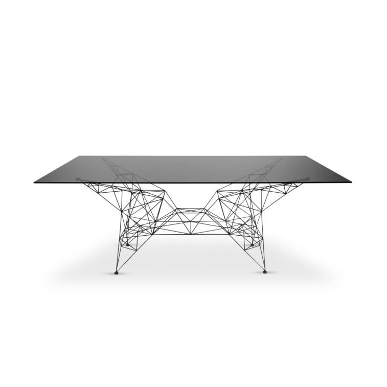 PYLON DINING TABLE  by TOM DIXON, available at the Home Resource furniture store Sarasota Florida