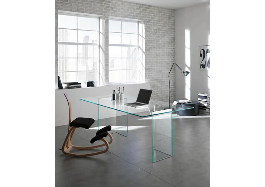 BACCO DESK by TONELLI for sale at Home Resource Modern Furniture Store Sarasota Florida