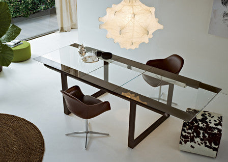Trian Dining Table  by Gallotti & Radice, available at the Home Resource furniture store Sarasota Florida