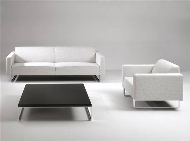 Mare Sofa Metal Legs  by Artifort, available at the Home Resource furniture store Sarasota Florida