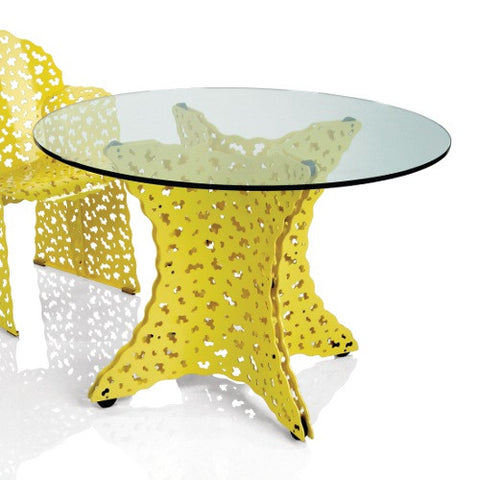 Topiary Outdoor Dining Table by Richard Schultz