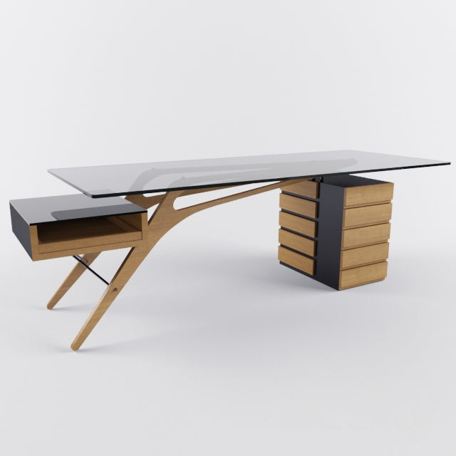 CAVOUR DESK  by Zanotta, available at the Home Resource furniture store Sarasota Florida