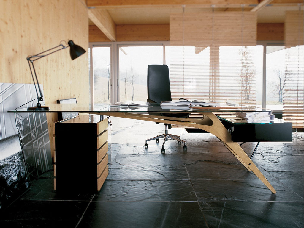 CAVOUR DESK by Zanotta for sale at Home Resource Modern Furniture Store Sarasota Florida