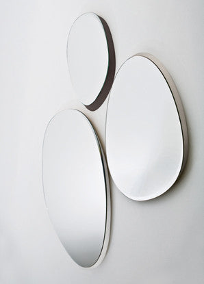 Zeiss Mirror  by Gallotti & Radice, available at the Home Resource furniture store Sarasota Florida