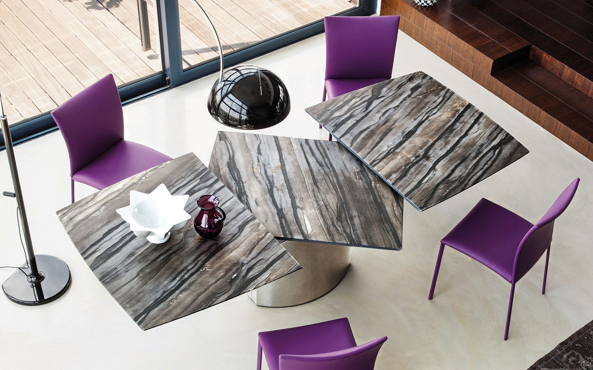 Contemporary Dining Room furniture for sale at the Home Resource Sarasota Florida