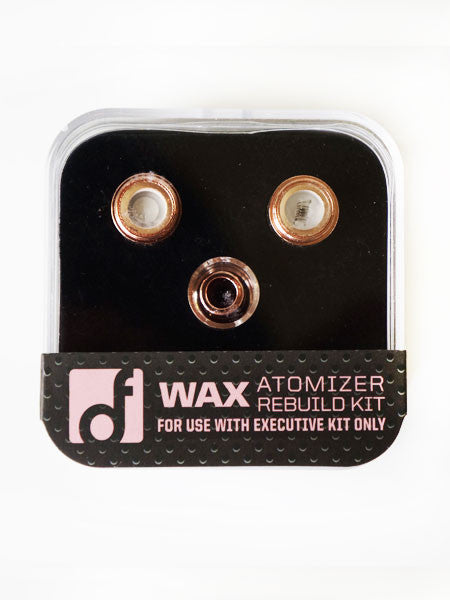 THE EXECUTIVE Wax Atomizer Rebuild Kit | Rose Gold