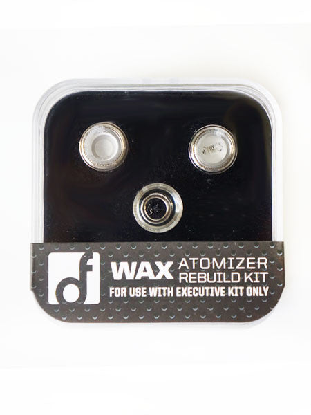 THE EXECUTIVE Wax Atomizer Rebuild Kit | White Gold