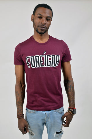 Foreigna Maroon T-Shirt