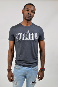 Foreigna Logo Tee - Heather/Grey
