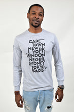 Load image into Gallery viewer, Foreigna Your Journey L/S Tee - Grey - FOREIGNA