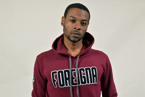 FOREIGNA CHENILLE - Pullover Hoodie - FOREIGNA