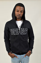 Load image into Gallery viewer, FOREIGNA CHENILLE - Zipper Hoodie