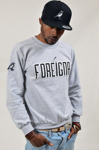 FOREIGNA LOGO Sweater - Sport/Grey