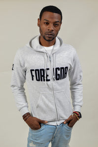 FOREIGNA CHENILLE - Zipper Hoodie