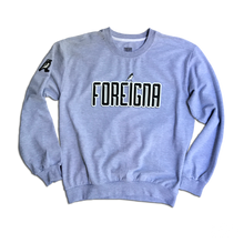 Load image into Gallery viewer, FOREIGNA LOGO Sweater - Sport/Grey