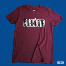 Load image into Gallery viewer, Foreigna Logo Tee - Maroon