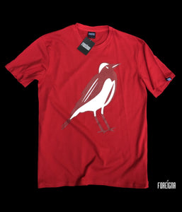FOREIGNA PW LOGO Tee - Red