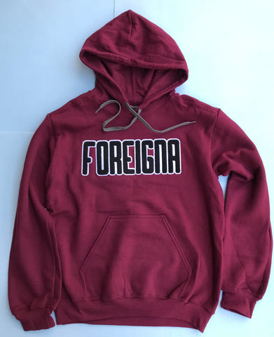Foreigna Chenille Pullover Hoodie