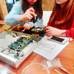 image from electronics workshop