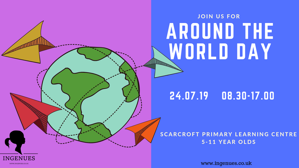 Around the World Day, York, 24th July 2019 - Ingenues