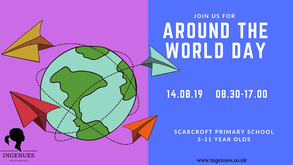 Around the World Day, York, 14th August 2019 - Ingenues