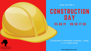 Construction Day, York, 5th August 2019 - Ingenues