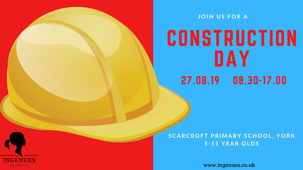 Construction Day, York, 27th August 2019 - Ingenues