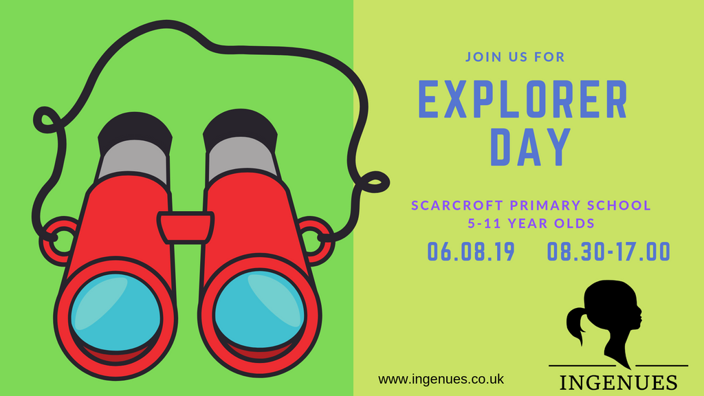 Explorer Day, York - 6th August 2019 - Ingenues