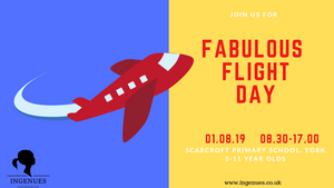 Fabulous Flight Day, York, 1st August 2019 - Ingenues