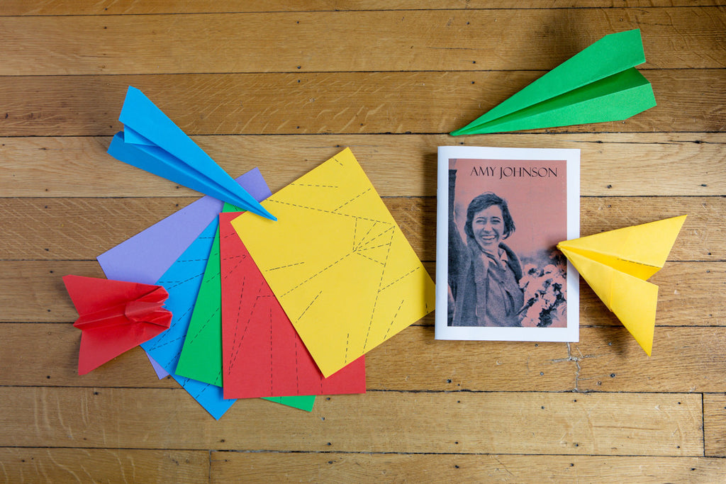 For the Aspiring Pilot in Your Life: The Amy Johnson activity pack - Ingenues