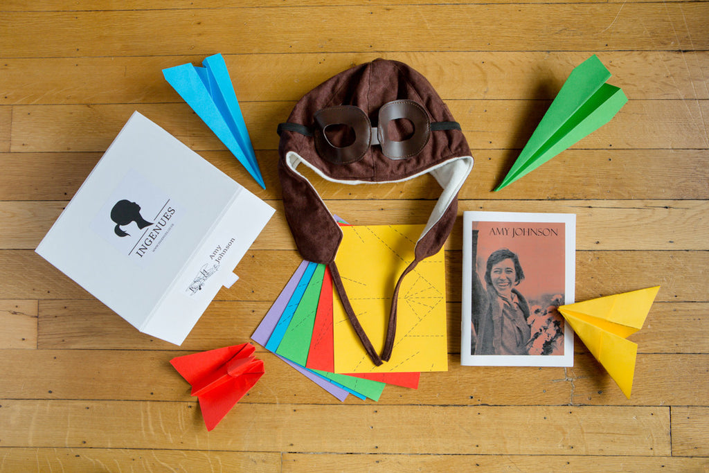 For the Aspiring Pilot: The Amy Johnson Activity Box - Ingenues