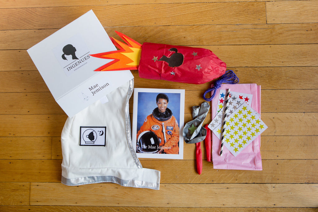 For the Future Space Travellers: The Mae Jemison Astronaut Activity Box - Ingenues
