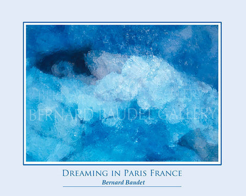 DREAMING IN PARIS, FRANCE POSTER