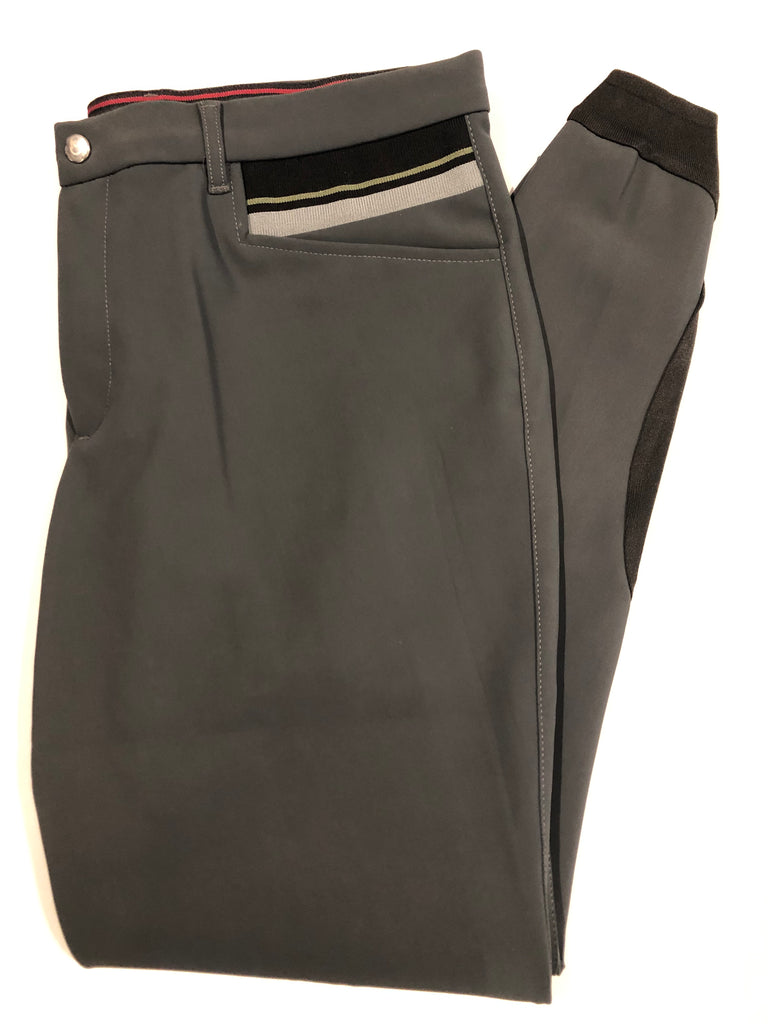 Cavalleria Toscana Men's Ribbed Insert Breeches