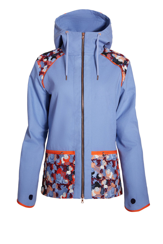 F.WORDS  Formation Jacket - Guipure Wedgewood