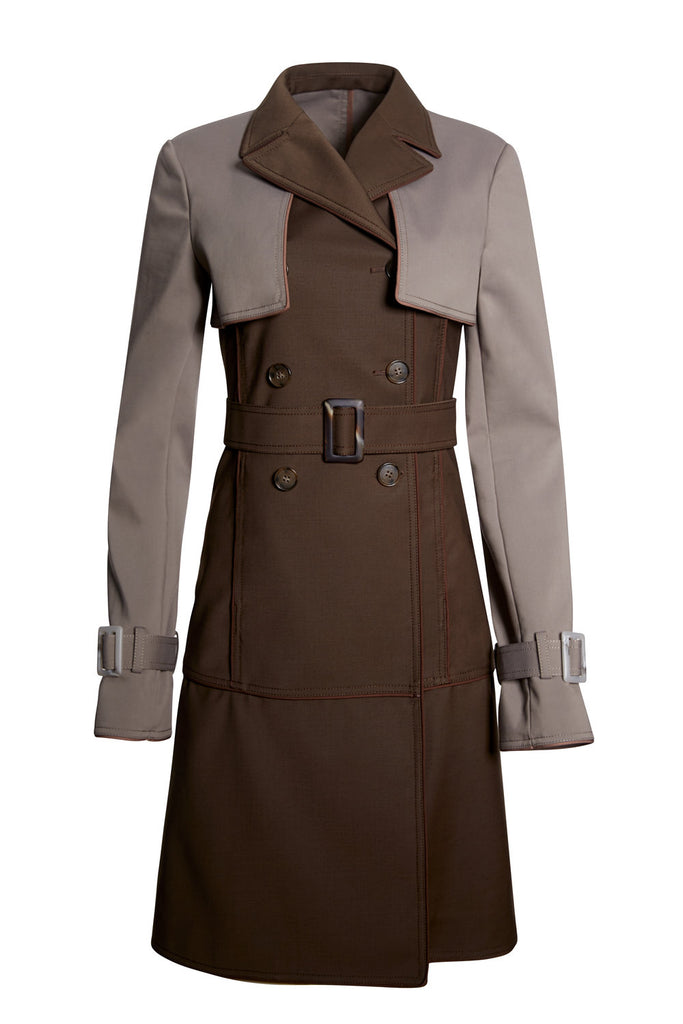 F.WORDS FAVORITE TRENCH COAT