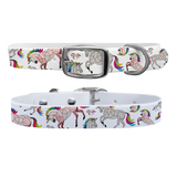 Horse on the Loose Unicorn Dog Collar - Large