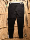 Cavalleria Toscana Women's 5 Pocket Denim Stretch Pants - Black
