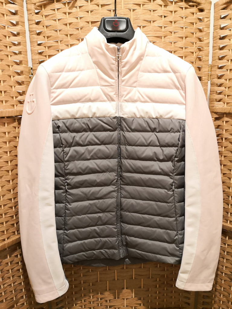 Cavalleria Toscana Women's Nylon/Jersey Synthetic Down Quilted Jacket 8020