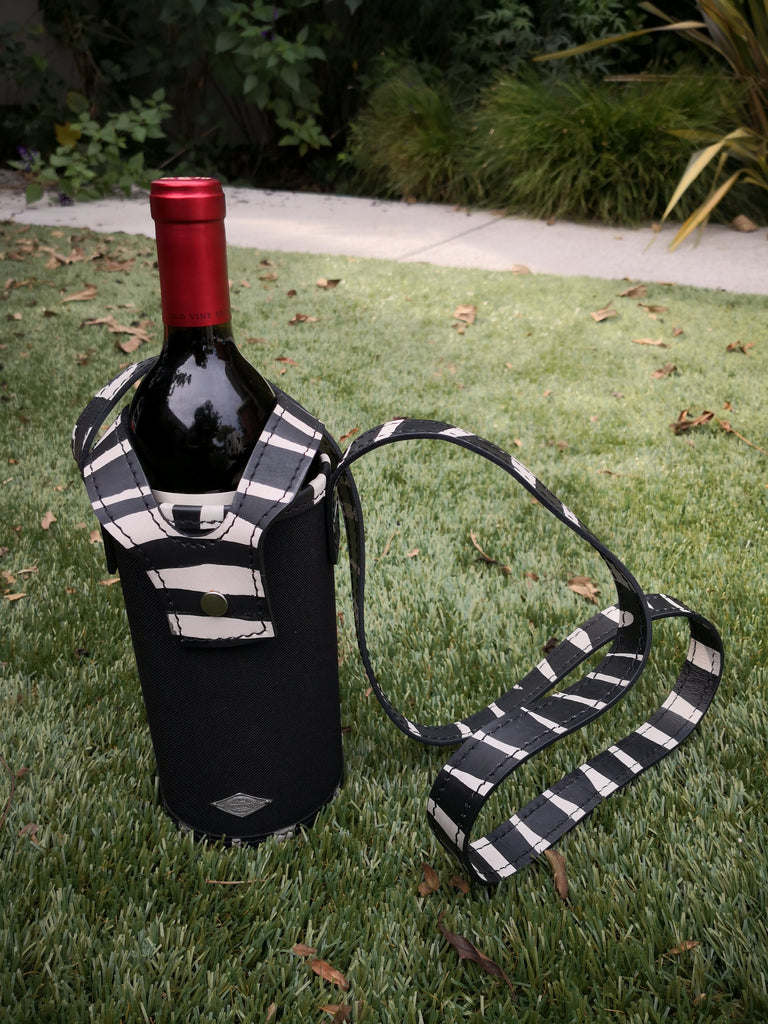 Fall Flash Sale Wine Sling - Zebra