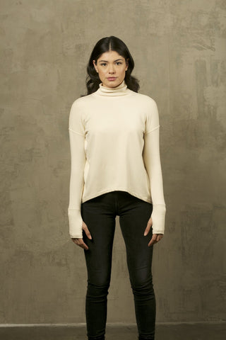Two Bits Equestrian Bamboo Crewneck Sweater- Black