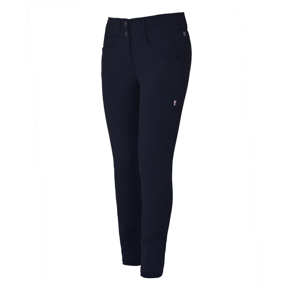 Kingsland Women's Kadi E-Tech Knee Grip Breech - Classic Navy