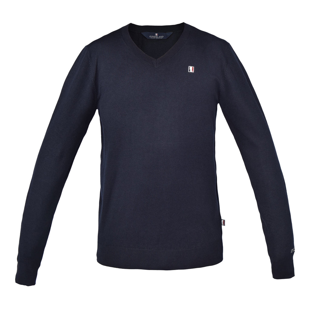 Classic Mens Knitted Pullover V-Neck