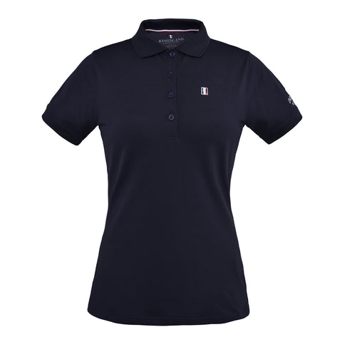 Cavalleria Toscana Perforated Raglan Sleeve Polo Shirt With Front Zip