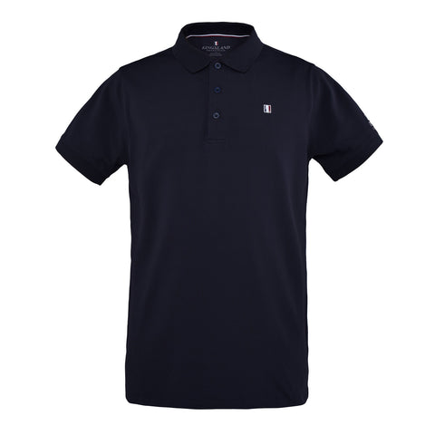 Men's Front Zip Sport Polo
