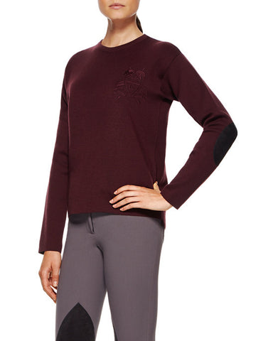 Cavalleria Toscana Women's High Neck Sweater