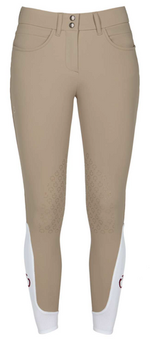 Cavalleria Toscana Women's American Full Grip Riding Breeches - High-Rise