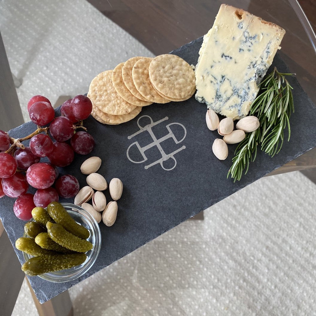 T.B.E. Home Custom Slate Cheese Plate