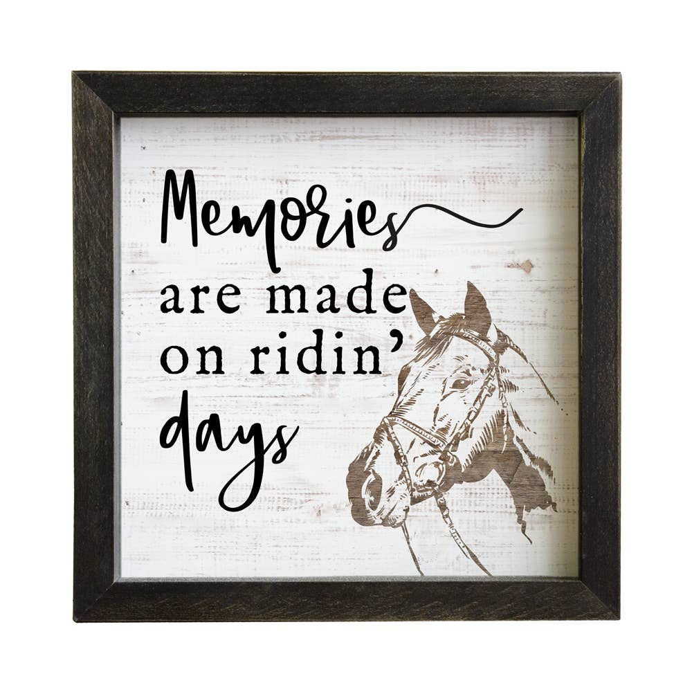 Memories Made Riding Days - Inspire Board