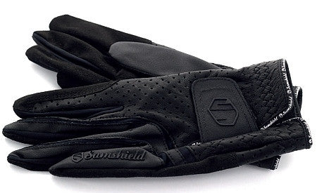 Hunter Black Samshield V-Skin Gloves
